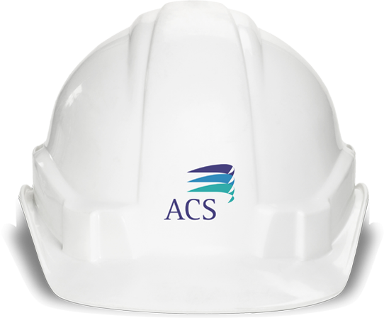Image of a ACS helmet