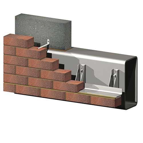 RHS Box Section Masonry Support