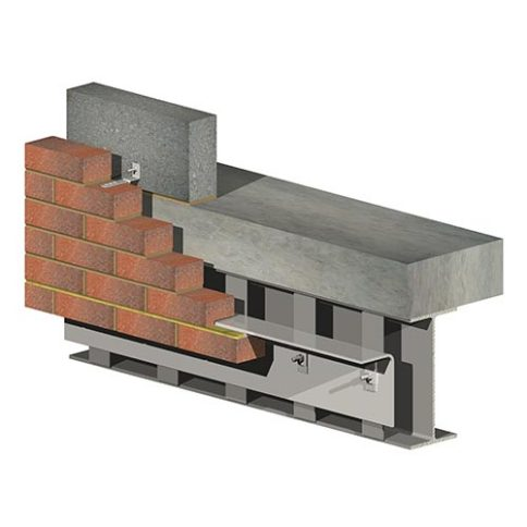 Image of Type 2 Steel UB conventional support