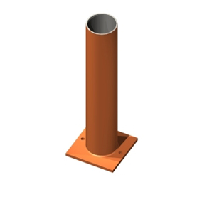 Image of a CHS Windpost
