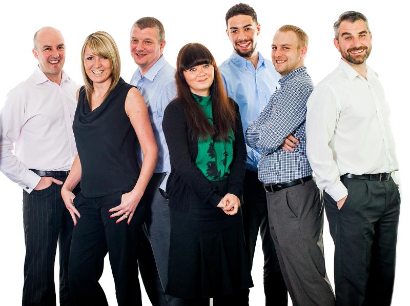 Image of ACS sales team
