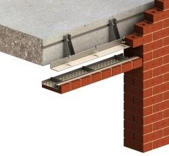 Image of Azure brick slip