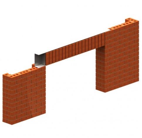 Azure Brick Faced Lintels