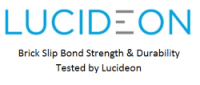 Image of Lucideon Logo who test brick slip strength & durability