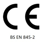 Image of CE BS EN 845-2