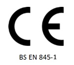 Image of CE BS EN 845-1