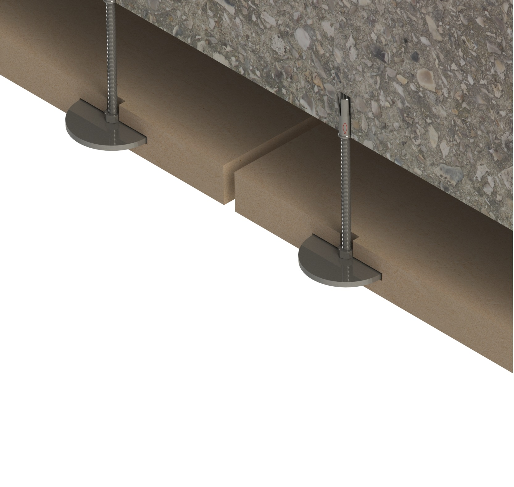 Image of Adjustable Disc Soffit Support
