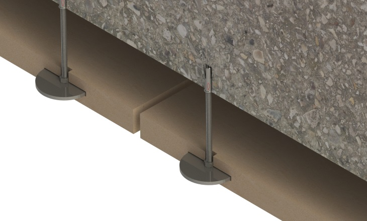 Image of Adjustable Disc Soffit Support (ADSS)