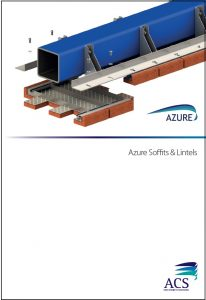 Image of Azure soffits & lintels data sheet