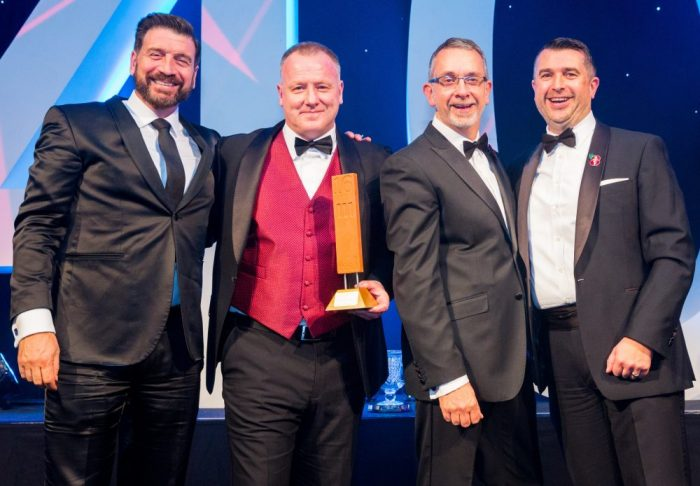 Image of Grangewood brick award winners