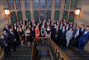 Image of awards group shot