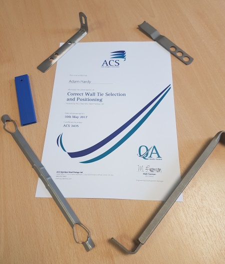 Image of certification given at ACS's Free CPD Seminars
