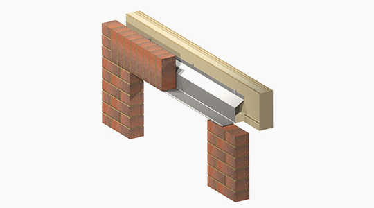L3 Type Timber Frame Lintel | Lintels - ACS Stainless Steel